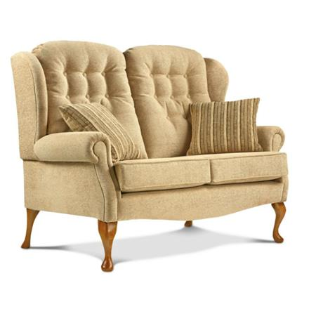 Lynton Fireside High Seat 2 Seater Sofa (fabric)