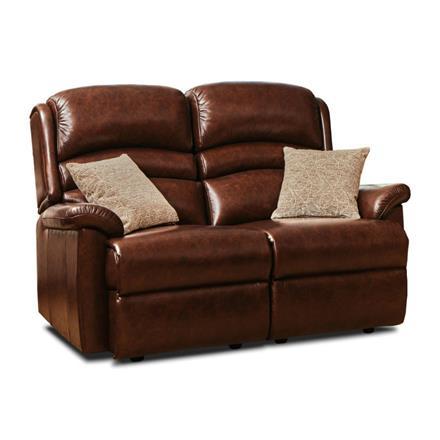 Sherborne Olivia Fixed 2 Seater Sofa (leather)