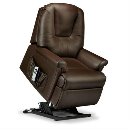 Milburn Electric Lift and Rise Care Recliner (leather)
