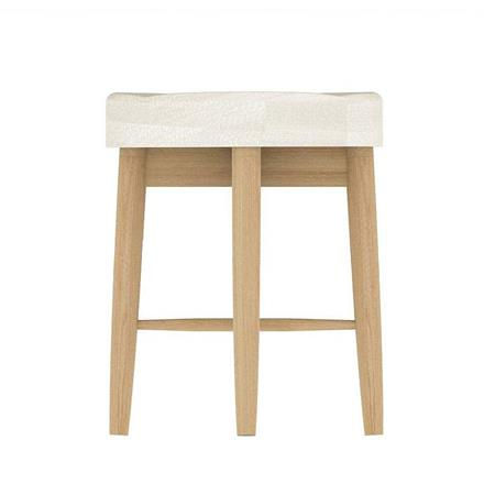Anais Dressing Table Stool (Leather)