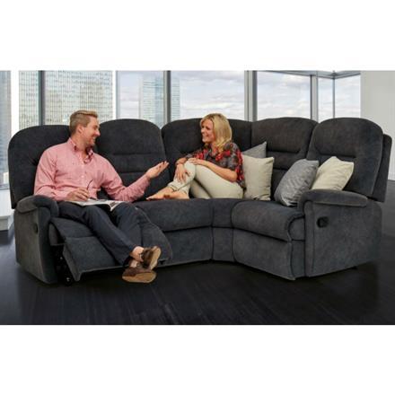 Keswick Recliner Corner Sofa (fabric)