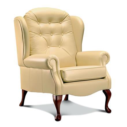 Sherborne Lynton Fireside Chair (leather)