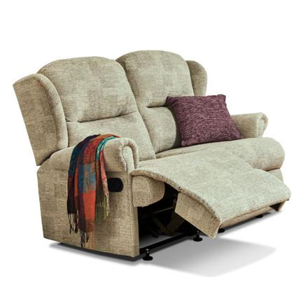 Malvern Reclining 2 Seater Sofa (fabric)