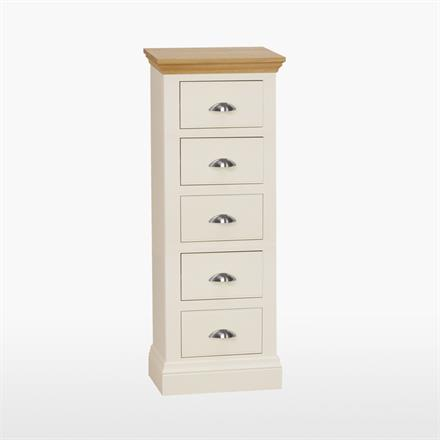 Coelo 5 Drawer Narrow Chest