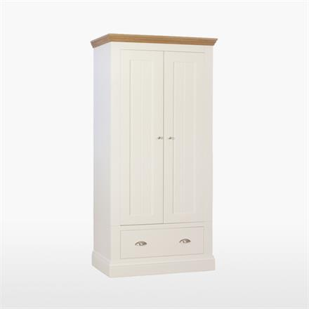 Coelo Narrow Wardrobe with 1 Drawer