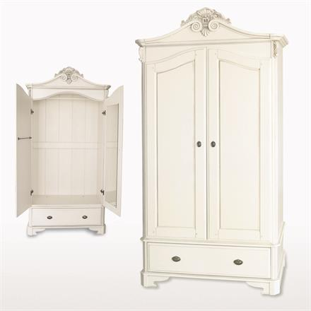 Amore Two Door / One Drawer Crested Wardrobe