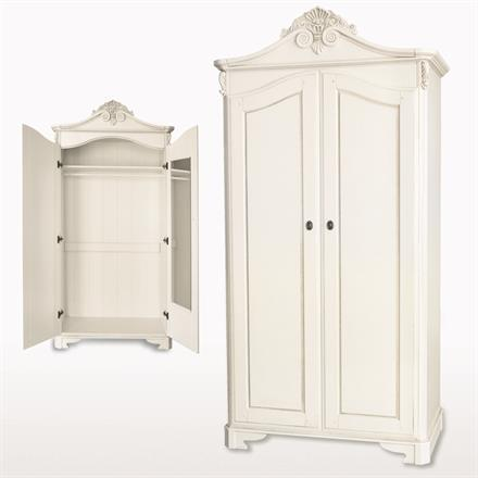 Amore Two Door Crested Wardrobe