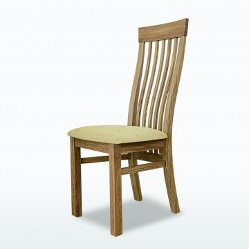 Windsor Swell Chair with fabric seat