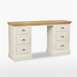 Coelo Double Pedestal Dressing Table