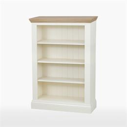 Coelo Medium Wide 3 Shelf Bookcase
