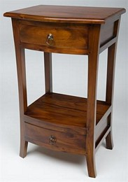 Pacific Two Drawer Telephone Table