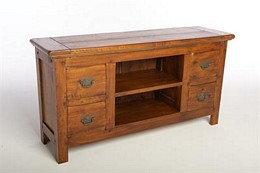 East Indies Long TV Unit