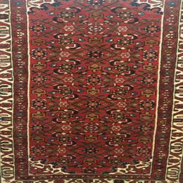 Traditional Hossienbad Persian Rug (190 x 84cm)