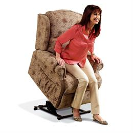 Sherborne Claremont Electric Lift & Rise Care Recliner (fabric)