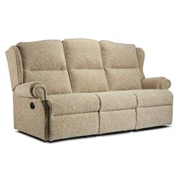 Sherborne Claremont Reclining 3 Seater Sofa (fabric)