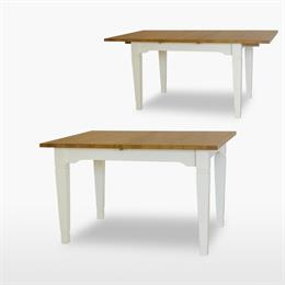 Coelo Large Extending Verona Dining Table with 1 Extension Leaf