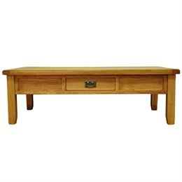 Stafford Large Coffee Table with Drawer