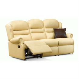 Ashford Reclining 3 Seater Sofa (leather)