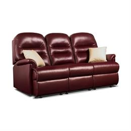 Sherborne Keswick Fixed 3 Seater Sofa (leather)