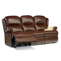 Malvern Reclining 3 Seater Sofa (leather)