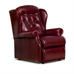 Sherborne Lynton Fixed Chair (leather)