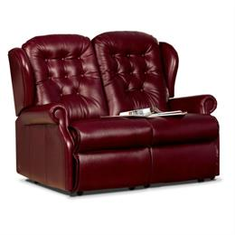 Sherborne Lynton Fixed 2 Seater Sofa (leather)