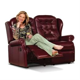 Sherborne Lynton Reclining 2 Seater Sofa (leather)