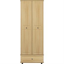 Scarlett 2 Door / 1 Drawer Tall Wardrobe