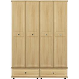 Deco 4 Door / 2 Drawer Tall Wardrobe