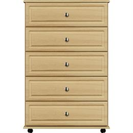 Deco 5 Drawer Wide Chest