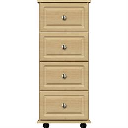Deco 4 Drawer Narrow Chest
