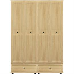 Stylo 4 Door / 2 Drawer Tall Wardrobe