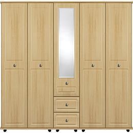 Vogue 5 Door with Centre Mirror / 2 Drawer Wardrobe