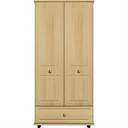 Vogue 2 Door / 1 Drawer Short Height Tallboy