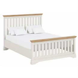 Annecy Oak Top 5'0 Imperial Bedstead with High Foot End