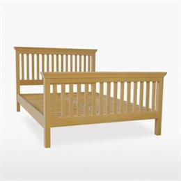 Reims Slat Bed with High Foot End