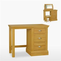 Reims Single Pedestal Dressing Table