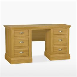 Reims Double Pedestal Dressing Table