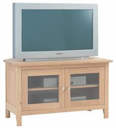 Nimbus Glazed Corner TV Cabinet