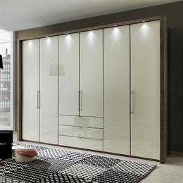 Loft Bi-Folding Wardrobes with Drawers