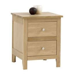 Nimbus 2 Drawer Bedside Chest