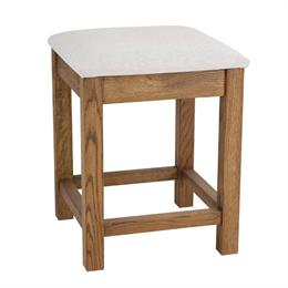 Quercia Bedroom Stool in Fabric