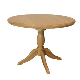 Lamont Round Fixed Single Pedestal Dining Table