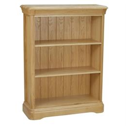 Lamont Low Bookcase with 2 Shelves