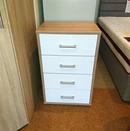 WELLEMOBEL Highlight 4 Drawer Narrow Chest