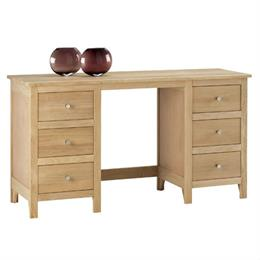 Nimbus Twin Pedestal Dressing Table