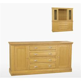 Reims Large Centre Drawer Dresser Base