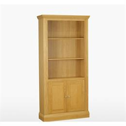 Reims Tall Bookcase with 2 Doors
