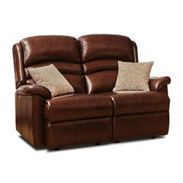 Olivia Fixed 2 Seater Sofa (leather)