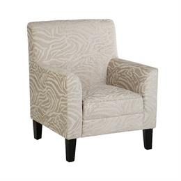 Luxe Chair in Natural Textured Animal Print